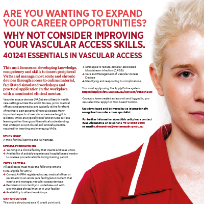 Essential Vascular Access Training